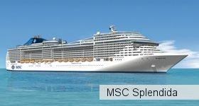 лайнер Msc Splendida 1