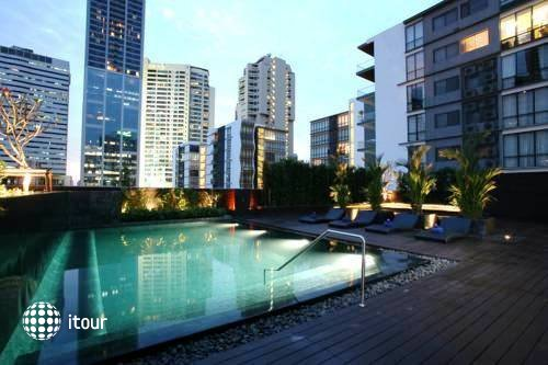 Oakwood Apartments Trilliant Sukhumvit 18 Bangkok 2