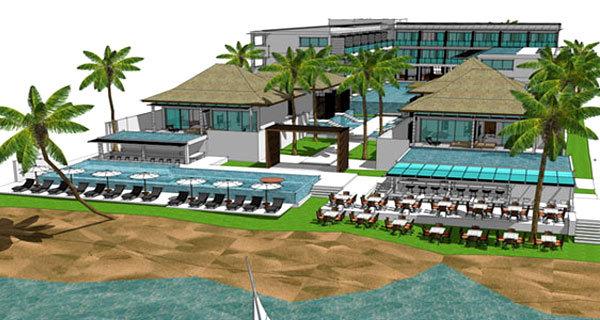 Beach Resort Pool Villas 1