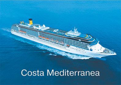 лайнер Costa Mediterranea 1