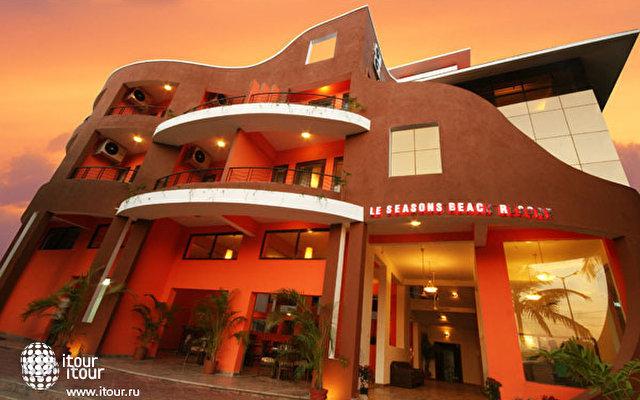 Le Seasons Beach Resort Candolim 1