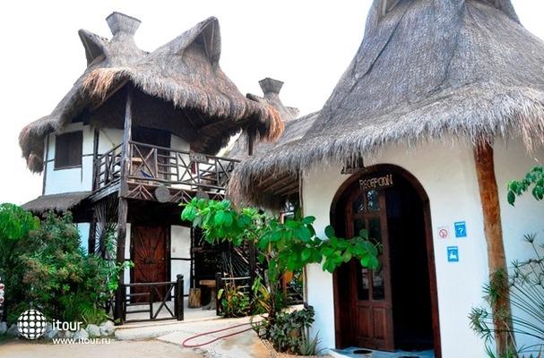 Green Tulum Cabanas & Gardens 1