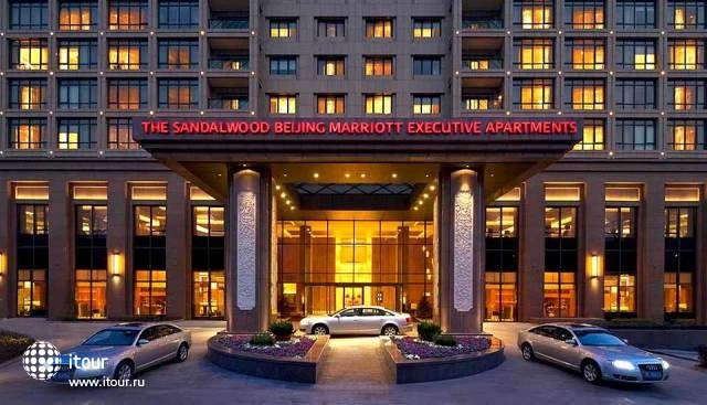Marriott Executive Apartments - The Sandalwood, Beijing 1