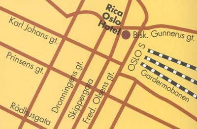 Rica Oslo Hotel 3
