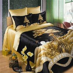 О. Постельное белье способно создать в спальне воистину королевский уют!