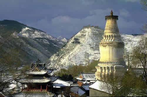 Горы Утай Шань | Пекин | Китай